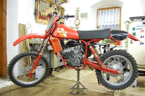 Beta 125CR Bj1981 500